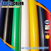 Good Tear strength PVC Waterproof Plasic Coated Canvas Tarpaulin for Tent Tarp
