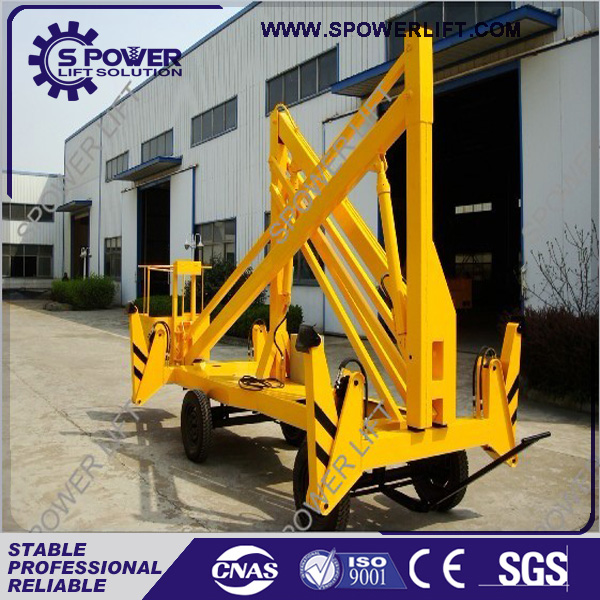 5% discount low price mobile hydraulic crank arm lift