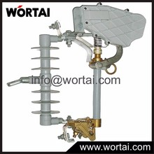 Wortai Cheapest High Voltage High Quality Load Break Polymer Dropout Fuse Cut out 15kV 100A 200A