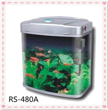 Mini curved glass fish tank aquarium buy artificial fish for Where to buy fish tanks