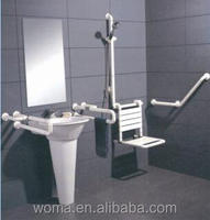 Bathroom Handrail Nylon Showering Grab Bars for Elderly