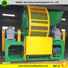 Tyre shredder machine prices for used tires retreading