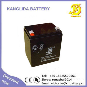 sealed lead acid battery manufacturer 12v4ah deep cycle SLA battery