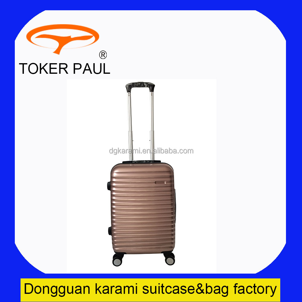 Hard Dongguan trolley luggage bag 3 pcs set