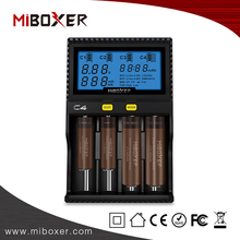 Miboxer C4 battery charger for toy car, li ion battery charger 3.7v, multipoint charger