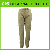 100%cotton khaki cargo pants