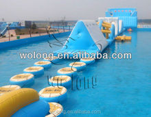 Hottest selling Inflatable water obstacle /adventure rush inflatable obstacle course for sale