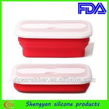 new design of the electric lunch box/silicone rubber box/lunch box keep food cold