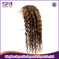 Top quality cheap stop brazilian hair full lace wigs, short blonde human hair full lace wig