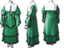 2014 Hot Cosplay Fantasy Uniform lovely ladies Party Wholesale Rozen Maiden Costume Jade Stern Cosplay Costume