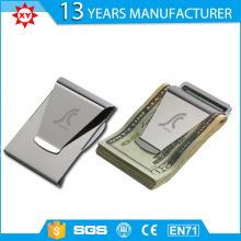 Wholesale Branded Logo Printed titanium money clip