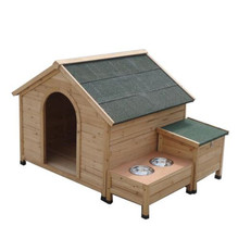 wholesale outdoor cheap waterproof customized wooden dog house