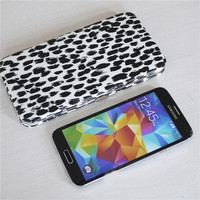 Animal Printed PU Leather Flat Clutch Opera Women's Wallet Hard Clutch Wallet