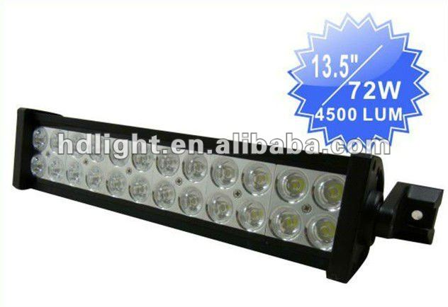 "Compare Lastest Hot 13.5"" High Power 4x4 Offroad Driving Led Light Bar 72W"