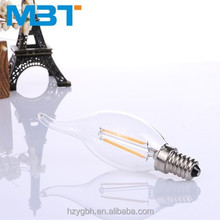 M.B.T LIGHTING Energy saving Candle Flame 360 degree led filament candle lamp photo