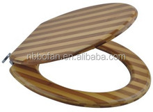 18inch Bamboo Toilet Seat Cover Mutiple colors option