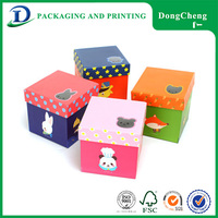 Famous shape recycle paper round board game printing box with high quality