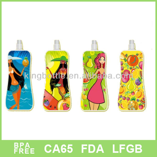 Eco-friendly cold drinks contains with customized logo,accept small order bobble water filter bottle