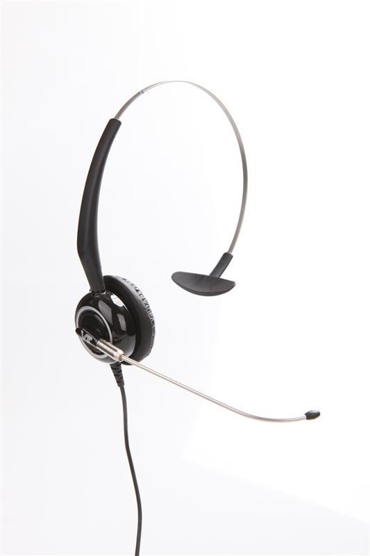 voice tube headsets with Boom rotation >10 k times wired stereo headset