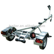 EU Hot Dipped Galvanized Boat Trailer