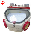 Dental sandblaster with two pen