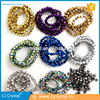 Metallic color Faceted Bicone Chinese Crystal Beads