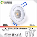 Norge 32mm height warm dim360 adjustment led downlight Vanern 2000-2800K CCT change IP44