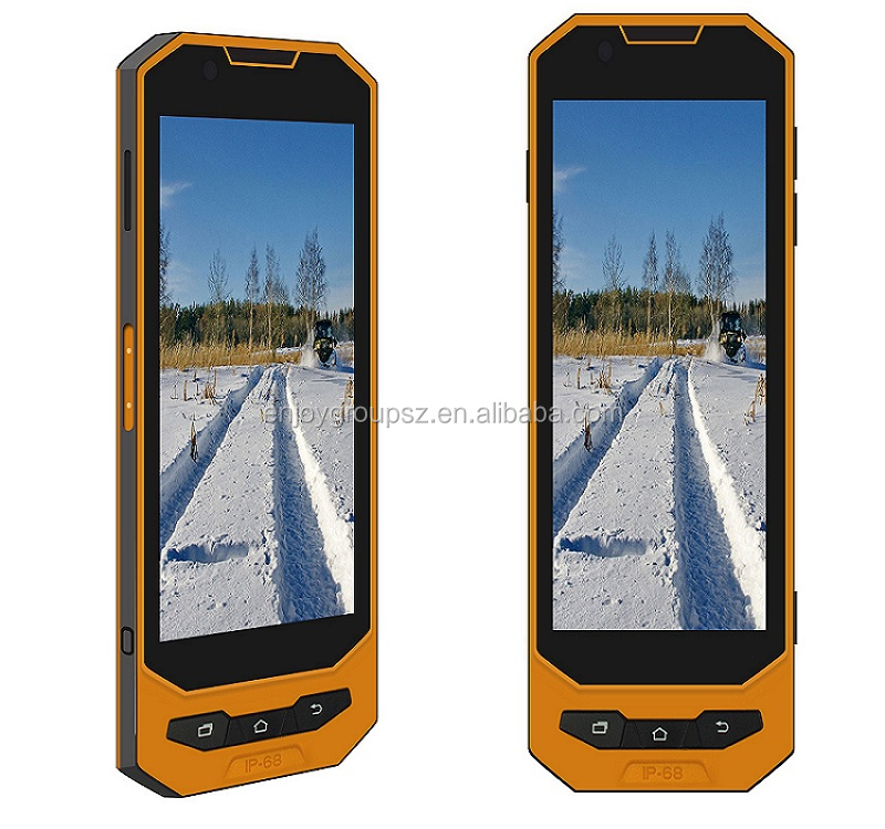 5.0'' latest mobile phone with tv function nfc outdoor ip phone waterproof