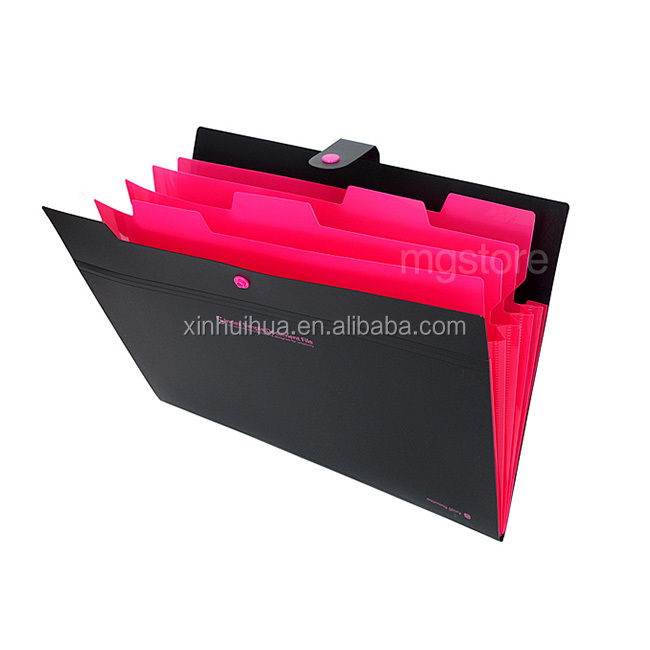 Top quality conference portfolioal multi-pocket file folder