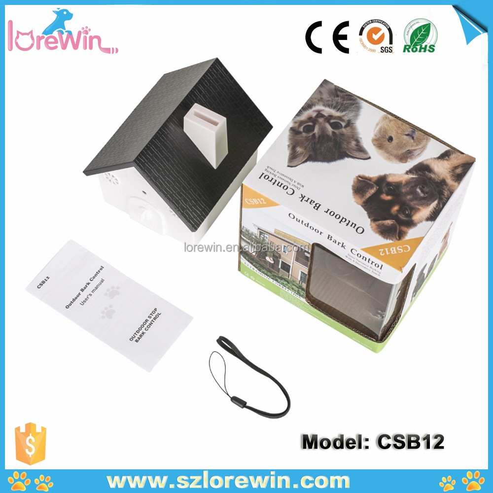 LoreWin CSB12 Amazon Best Hot selling 2017No Bark Collar Bark Control Collar,NO.377 dog bark control spray