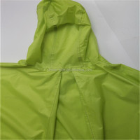 PEVA Rain Poncho/ Rainware/ Raincoat For Adult