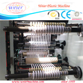 PVC Edge Banding sheet office furniture extrusion machine with Slitting System