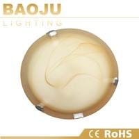 Decoration design light round glass ceiling light covers,LED ceiling light with CE/RoHS