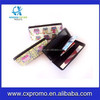 Aluminum Printing Credit Card Case Box Business ID Credit Card Wallet Holder Case Box With Mirror