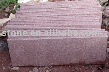 G528 RED GRANITE PORFIDO STONE PAVERS
