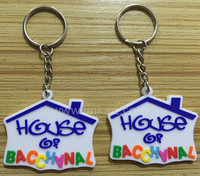 customized rubber 3D soft key chain