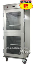 Stainless steel upright holding cabinet showcase