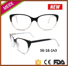 Hot lady fashion retro china wholesale cat eye eyeglasses frame