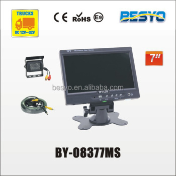 "7"" monitor and camera systems BY-08377MS"