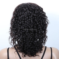 New product human hair 10inch wig 100% handmade by skilled worker wholesale 100% indian remy hair machine made wig