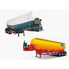 Factory Manufacturing loading 80ton bulk cement tank semi trailer for sale