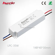 LPC-35W constant current LED driver with CE ROHS KC PSE TUV CCC certification