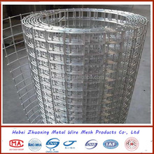 PVC or Galvanized welded wire mesh 1/2""