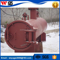 pipe closure for pig launcher receiver design and vertical pressure vessel