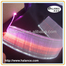 customized size glowing cloth light for restaurant decoration