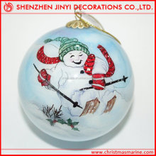 PROMOTIONAL!!!2013 new style christmas drawing ball printed tree decorations