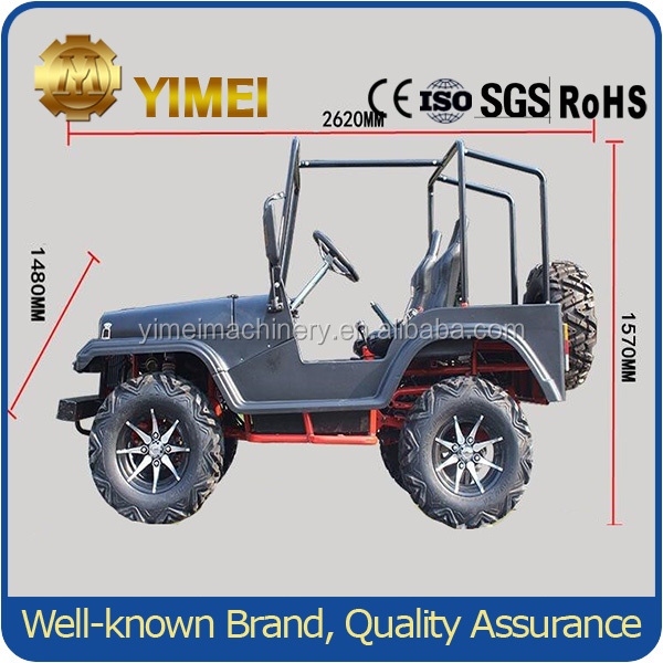 CE Available Mini Jeep Willys Pedal Car