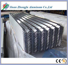 Chinese manufacture corrugated aluminum roofing sheet 750 820 850 900