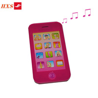 Customer Design Push Button Musical Child Toy Mobile Phone