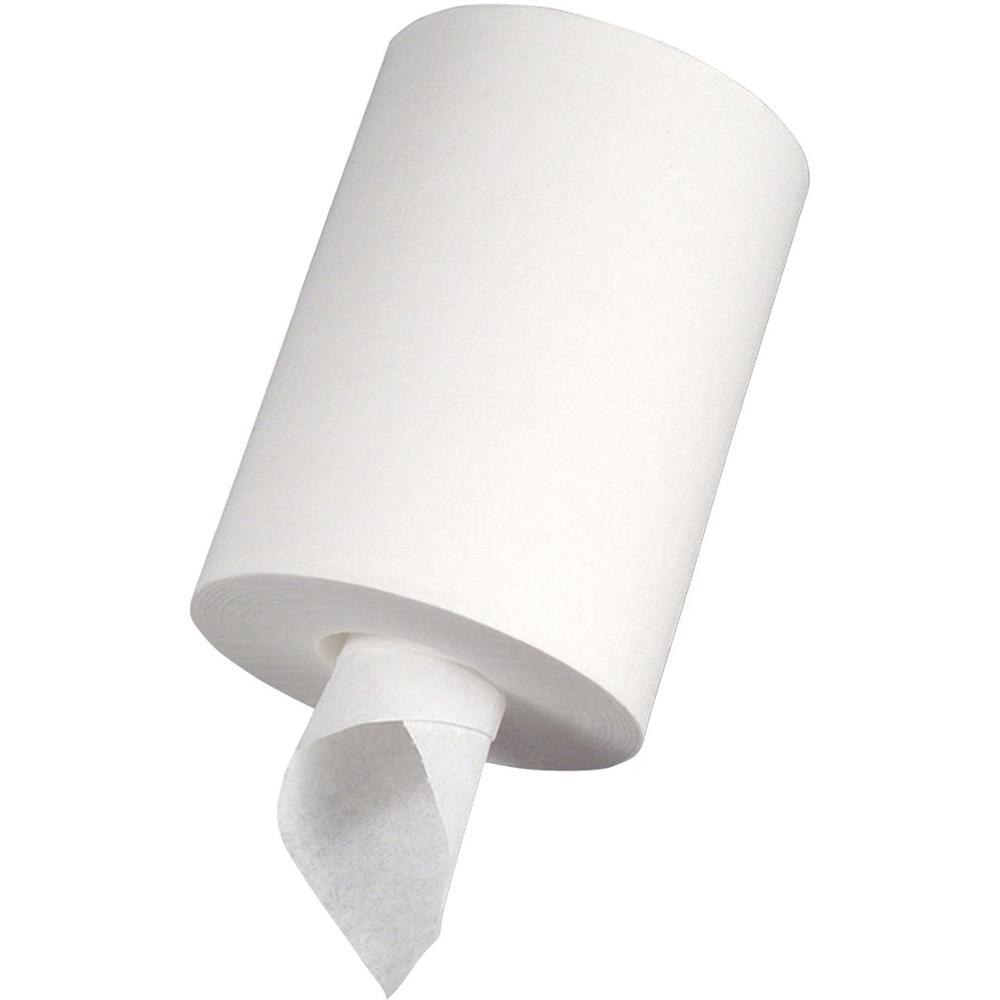 2 Ply, White,500 Sheets Per Roll, 6 Rolls Per Case,Centerpull High Capacity Paper Towel